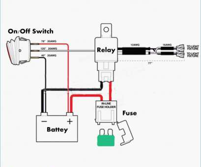 Off Toggle Switch Wiring Diagram Rocker Volt on