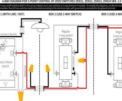 3-way illuminated switch wiring diagram Ceiling Light Switch Wiring Diagram Home Best Lighted 3, 7 18 Cleaver 3-Way Illuminated Switch Wiring Diagram Ideas