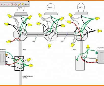 3-Way Switch Wiring Diagram With 3-Lights Fantastic 3, Switch Wiring Diagram Multiple Lights Katherinemarie Me, Beautiful Three Switches With Galleries