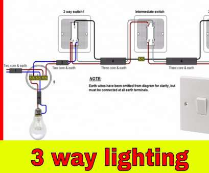 3-Way Switch Wiring Diagram With 3-Lights New How To Wire 3-Way Lighting Circuit Images