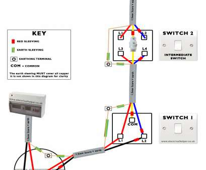 3-Way Switch Wiring Diagram With 3-Lights Top Two, Switch Connection, Many More Lights In Hindi 2 Throughout, Wiring Diagram 3 Galleries
