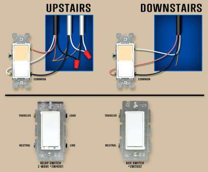 3-way switch wiring (on/off) Leviton 3, Dimmer Switch Wiring Diagram, How To Wire A Diagrams With Di 8 Fantastic 3-Way Switch Wiring (On/Off) Pictures