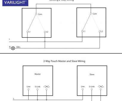 3-way to 2-way switch wiring 2-Way Switch to Touch Dimmer Conversion Wiring. 3-Way Wiring 3-Way To 2-Way Switch Wiring Cleaver 2-Way Switch To Touch Dimmer Conversion Wiring. 3-Way Wiring Pictures