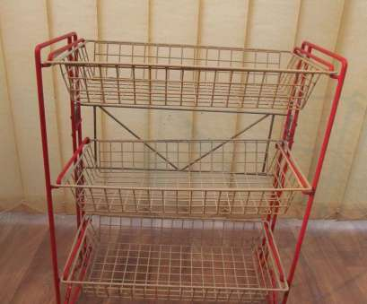 3 wire basket storage unit Vintage Free Standing Storage Unit 3 Wire Basket Shelves, Cream Frame, #1779236737 3 Wire Basket Storage Unit Simple Vintage Free Standing Storage Unit 3 Wire Basket Shelves, Cream Frame, #1779236737 Images