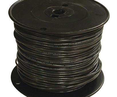 3/0 Gauge Wire Diameter New Southwire, Ft., Black Stranded CU SIMpull THHN Wire Photos
