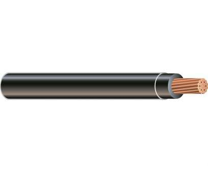 3/0 Gauge Wire Diameter Perfect Southwire, Ft., Black Stranded CU SIMpull THHN Wire Pictures