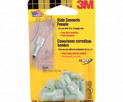 3m electrical wire connectors 3M Electrical Female Slide Connectors, Blue, 15 Pack 3M Electrical Wire Connectors Nice 3M Electrical Female Slide Connectors, Blue, 15 Pack Images