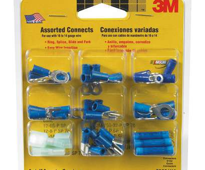 3m electrical wire connectors Amazon.com: 3M 3984 16 to 14-Gauge Wire Splice Electrical Connectors, Blue, 50, Pack: Home Improvement 3M Electrical Wire Connectors Cleaver Amazon.Com: 3M 3984 16 To 14-Gauge Wire Splice Electrical Connectors, Blue, 50, Pack: Home Improvement Collections