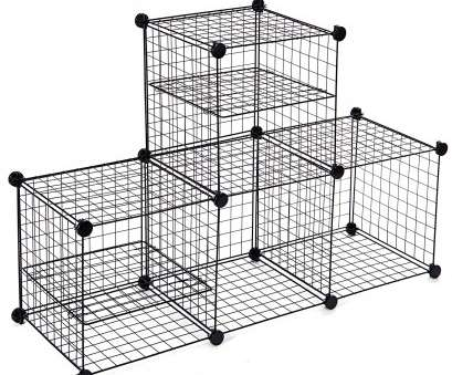 4 cube wire storage shelves Wire Storage Cubes, MaidMAX Free Standing Modular Shelving Units Closet Organization Systems, 4 Grids with 2 Wire Dividers, Black 4 Cube Wire Storage Shelves Perfect Wire Storage Cubes, MaidMAX Free Standing Modular Shelving Units Closet Organization Systems, 4 Grids With 2 Wire Dividers, Black Ideas