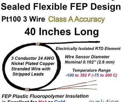 4 gauge wire diameter with insulation Flexible Hermetically Sealed, Insulated, Pt100 Sensor 40 Inches of Lead Wire with Stripped Ends 4 Gauge Wire Diameter With Insulation Fantastic Flexible Hermetically Sealed, Insulated, Pt100 Sensor 40 Inches Of Lead Wire With Stripped Ends Photos