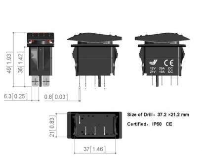 4 position toggle switch wiring led toggle switch wiring diagram  wellread me rh wellread me 3