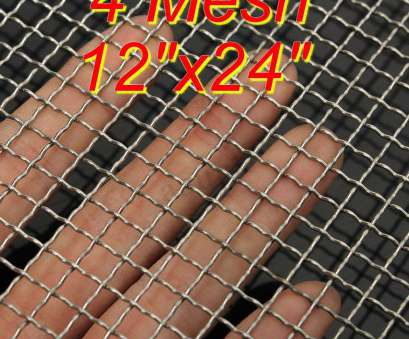 #4 woven wire mesh Details about Stainless Steel, Mesh #4 .047 Filtration Woven Wire Cloth Screen 12''x24'' #4 Woven Wire Mesh Professional Details About Stainless Steel, Mesh #4 .047 Filtration Woven Wire Cloth Screen 12''X24'' Ideas