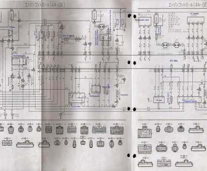 4G15 Electrical Wiring Diagram Perfect Recently I Found A Wiring Diagram, The 4AGE, Silvertop From, Internet. It Is An Official Wiring Diagram, A Silvertop Sourced From Toyota And Images