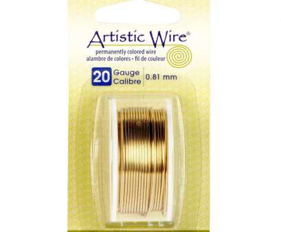 5 gauge wire diameter artistic wire brass 20 gauge rh michaels, cat 5 wire gauge 5 gauge wire size 5 Gauge Wire Diameter Professional Artistic Wire Brass 20 Gauge Rh Michaels, Cat 5 Wire Gauge 5 Gauge Wire Size Ideas