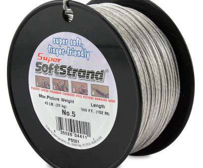 .5 mm wire to gauge Amazon.com: SuperSoftstrand 500-Feet Picture Wire Vinyl Coated Stranded Stainless Steel: Arts, Crafts & Sewing .5 Mm Wire To Gauge Brilliant Amazon.Com: SuperSoftstrand 500-Feet Picture Wire Vinyl Coated Stranded Stainless Steel: Arts, Crafts & Sewing Images
