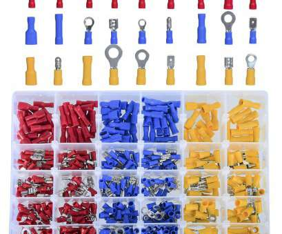 .5 mm wire to gauge DEDC 480Pcs Insulated Wiring Terminals Wire Connectors Assortment Electrical Crimp Terminals, Crimp Connectors Cable Terminal .5 Mm Wire To Gauge Most DEDC 480Pcs Insulated Wiring Terminals Wire Connectors Assortment Electrical Crimp Terminals, Crimp Connectors Cable Terminal Ideas