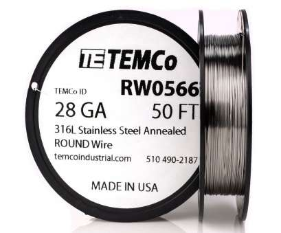 .5 mm wire to gauge TEMCO STAINLESS STEEL Wire SS 316L, 28 Gauge 50 FT Non-Resistance .5 Mm Wire To Gauge Most TEMCO STAINLESS STEEL Wire SS 316L, 28 Gauge 50 FT Non-Resistance Collections