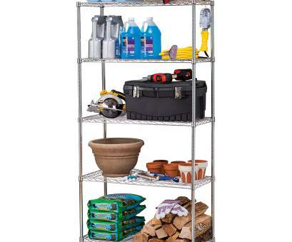 5 tier wire shelving rack Work Choice 5-Tier Commercial Wire Shelving Rack, Zinc 16 Professional 5 Tier Wire Shelving Rack Photos