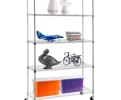 5 tier wire shelving rack Details about Adjustable 82