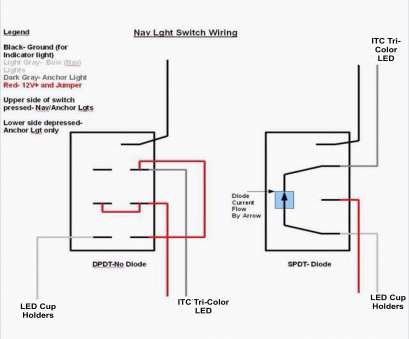 Illuminated Toggle Switch Wiring Diagram | Wiring Diagram on