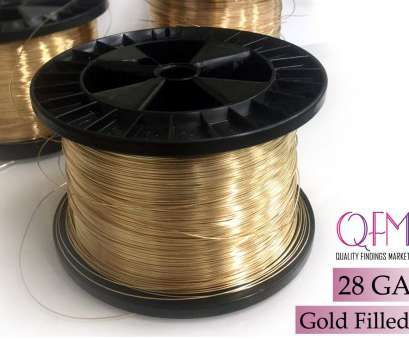 50 gauge wire diameter 1 meter (3.28 feet) yellow gold filled wire, Thickness 28 GA (0.3mm), also available in bulk (spools), Soft gold filled wire 28 Gauge 50 Gauge Wire Diameter Simple 1 Meter (3.28 Feet) Yellow Gold Filled Wire, Thickness 28 GA (0.3Mm), Also Available In Bulk (Spools), Soft Gold Filled Wire 28 Gauge Galleries