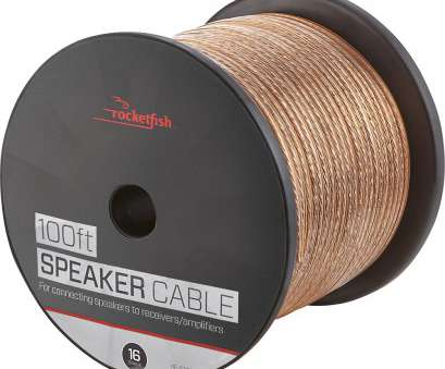 50 gauge wire diameter Rocketfish™, 100' Speaker Wire, 16AWG, Gold 50 Gauge Wire Diameter Creative Rocketfish™, 100' Speaker Wire, 16AWG, Gold Photos