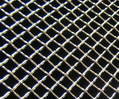 5mm woven wire mesh Chrome Woven Grill Mesh Insert 16x48 2.5mm Wire -, Openings 5Mm Woven Wire Mesh Perfect Chrome Woven Grill Mesh Insert 16X48 2.5Mm Wire -, Openings Photos