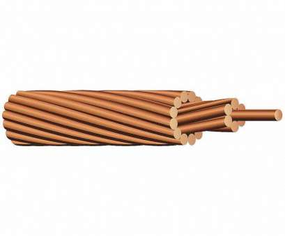 6 awg bonding wire 25' FT, AWG Bare Stranded Copper Bonding, or Grounding Wire 8 Professional 6, Bonding Wire Solutions