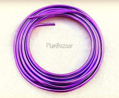 6 gauge jewelry wire Aluminum wire, jewelry, crafts, 6 gauge round, purple,, foot coil 6 Gauge Jewelry Wire Simple Aluminum Wire, Jewelry, Crafts, 6 Gauge Round, Purple,, Foot Coil Solutions