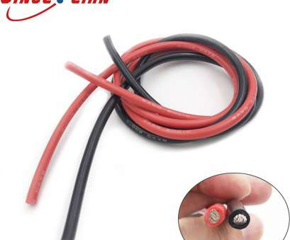 6 gauge silicone wire Original Cables Gauge 2PCS 2Meters, Silicone Rubber Wire Cable, Black Flexible, 8 10 12 14 16 18 20 Electrical Wire-in Wires & Cables from Lights 6 Gauge Silicone Wire Popular Original Cables Gauge 2PCS 2Meters, Silicone Rubber Wire Cable, Black Flexible, 8 10 12 14 16 18 20 Electrical Wire-In Wires & Cables From Lights Collections