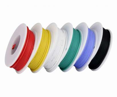 6 gauge silicone wire TUOFENG 24 Gauge Wire, Electrical Wire, 24, Flexible Silicone Wire(6 Different Colored 9 Meter spools) 300V Hookup Wire-in Wires & Cables from 6 Gauge Silicone Wire Fantastic TUOFENG 24 Gauge Wire, Electrical Wire, 24, Flexible Silicone Wire(6 Different Colored 9 Meter Spools) 300V Hookup Wire-In Wires & Cables From Photos