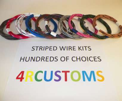 6 gauge gxl wire 10 AUTOMOTIVE Wire 18 Gauge, Ten Colors, Each Striped With 6 Gauge, Wire Professional 10 AUTOMOTIVE Wire 18 Gauge, Ten Colors, Each Striped With Collections