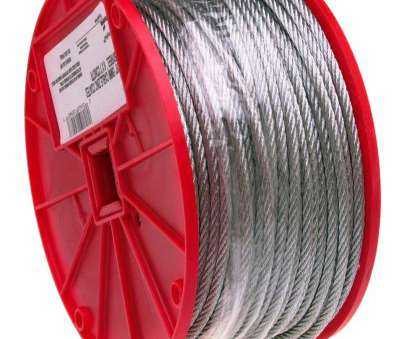 6 gauge wire at menards Galvanized Steel Wire Rope, 7x19 Strand Core: Cable, Wire Rope: Amazon.com: Industrial & Scientific 6 Gauge Wire At Menards Popular Galvanized Steel Wire Rope, 7X19 Strand Core: Cable, Wire Rope: Amazon.Com: Industrial & Scientific Images