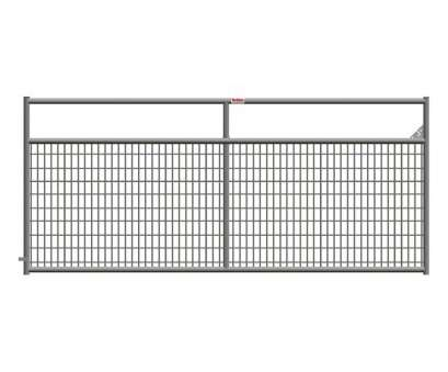 6 gauge wire mesh panel Ranch Master, in. x 50, Wire-Filled Tube Gate 6 Gauge Wire Mesh Panel Top Ranch Master, In. X 50, Wire-Filled Tube Gate Pictures