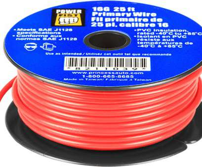 6 gauge wire princess auto 16 Gauge 25 ft Primary Wire, Princess Auto 9 New 6 Gauge Wire Princess Auto Images