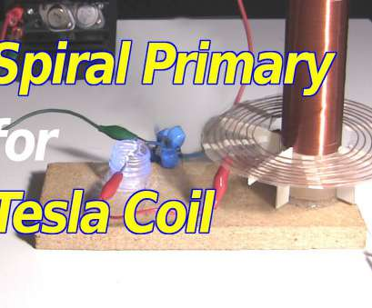 6 Gauge Wire Tesla Top How To Make Spiral Primary Coil, Tesla Coil Images