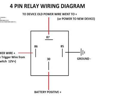 6 pole toggle switch wiring diagram top 4 prong relay wiring diagram 4,  relay wiring