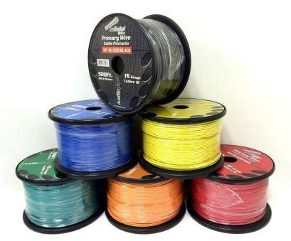 6 awg primary wire 6 Rolls of 16 Gauge, 500' each Audiopipe, Audio Home Primary Remote Wire 6, Primary Wire Popular 6 Rolls Of 16 Gauge, 500' Each Audiopipe, Audio Home Primary Remote Wire Ideas