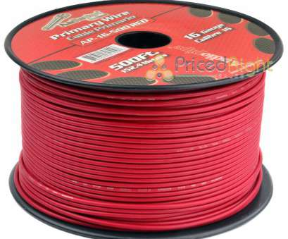 6 awg primary wire Details about 500' FT Spool Of, 16 Gauge, Feet Home Primary Power Cable Remote Wire 6, Primary Wire Perfect Details About 500' FT Spool Of, 16 Gauge, Feet Home Primary Power Cable Remote Wire Photos