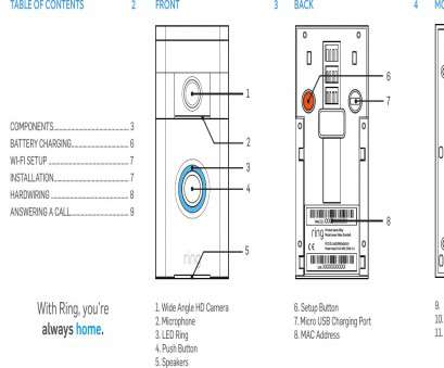6 wire doorbell wiring diagram BHARG031 Ring User Manual Doorbell Users 10 13, Home Brilliant Wiring Schematic 6 Wire Doorbell Wiring Diagram New BHARG031 Ring User Manual Doorbell Users 10 13, Home Brilliant Wiring Schematic Photos