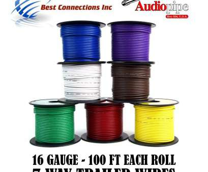 7 gauge wire Amazon.com: Trailer Wire Light Cable, Harness 7, Cord 16 Gauge, 100ft roll, Rolls: Automotive 7 Gauge Wire Brilliant Amazon.Com: Trailer Wire Light Cable, Harness 7, Cord 16 Gauge, 100Ft Roll, Rolls: Automotive Images