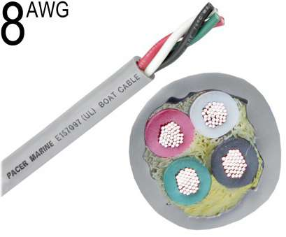 8 awg 600v wire Round Boat Cable, 8 AWG 8, 600V Wire Creative Round Boat Cable, 8 AWG Ideas