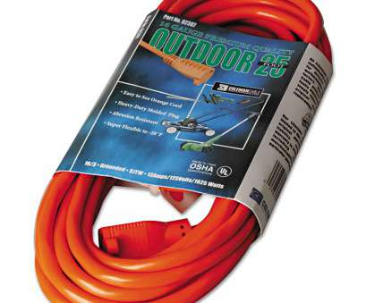 8 gauge 5 conductor wire CCI Vinyl Outdoor Extension Cord, 25ft, 13 Amp, Orange 8 Gauge 5 Conductor Wire Creative CCI Vinyl Outdoor Extension Cord, 25Ft, 13 Amp, Orange Photos