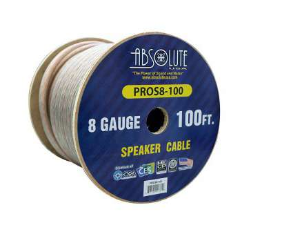 8 gauge gi wire Amazon.com: Absolute, PROS8100 8 Gauge Speaker Wire:, Electronics 8 Gauge Gi Wire Creative Amazon.Com: Absolute, PROS8100 8 Gauge Speaker Wire:, Electronics Collections