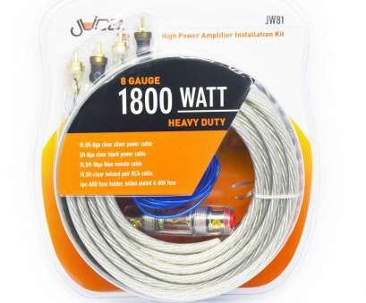 8 gauge power wire watts Juice Juice 1800W 8 Gauge Wiring, (JW81) -, Audio Centre 10 Fantastic 8 Gauge Power Wire Watts Ideas