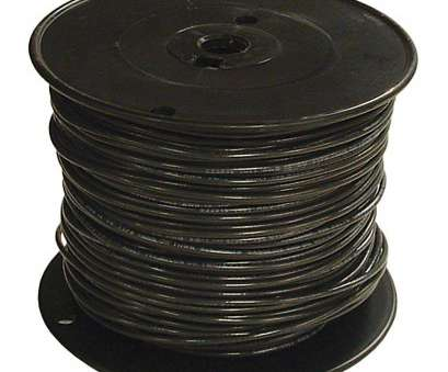 8 gauge stranded copper wire lowes 500 Ft 1 Black Stranded Cu Simpull Thhn Wire 8 Gauge Stranded Copper Wire Lowes Nice 500 Ft 1 Black Stranded Cu Simpull Thhn Wire Collections