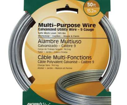 8 gauge vs 9 gauge wire Shop Hillman 9-Gauge Galvanized Utility Wire at Lowes.com 8 Gauge Vs 9 Gauge Wire Practical Shop Hillman 9-Gauge Galvanized Utility Wire At Lowes.Com Images
