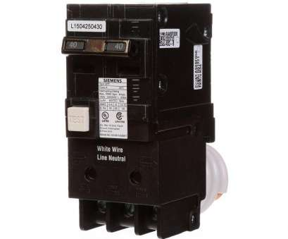 8 gauge wire 40 amps Siemens 40, Double Pole Type, GFCI Circuit Breaker 8 Gauge Wire 40 Amps Simple Siemens 40, Double Pole Type, GFCI Circuit Breaker Solutions