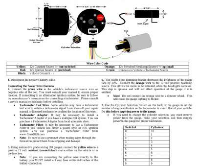 8 gauge wire conversion to mm fantastic glowshift boost gauge wiring  diagram, glowshift boost gauge