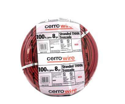 8 gauge wire lowes Shop Cerro Wire 100-ft 8-AWG Stranded, THHN Wire (By-the-Roll 8 Gauge Wire Lowes Nice Shop Cerro Wire 100-Ft 8-AWG Stranded, THHN Wire (By-The-Roll Pictures